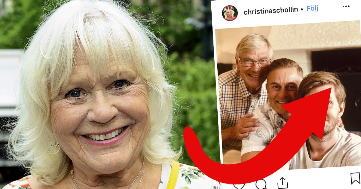 Följarna häpnar efter nya bilden på Niclas Wahlgrens son Tim