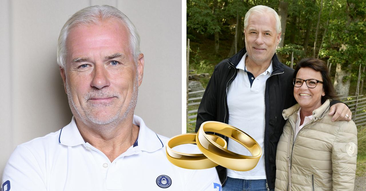 Camilla Lendotts beslut kring efternamnen inför bröllopet med Glenn Hysén.