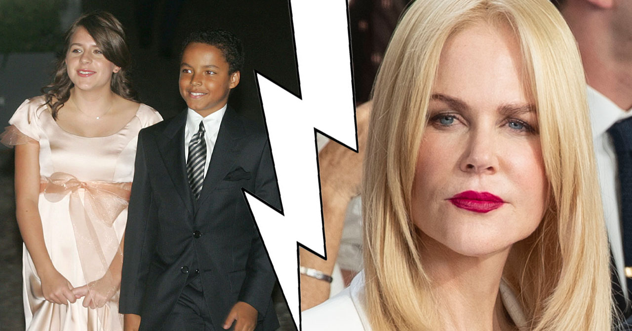 Tom Cruise stoppar barnen ha kontakt med Nicole Kidman