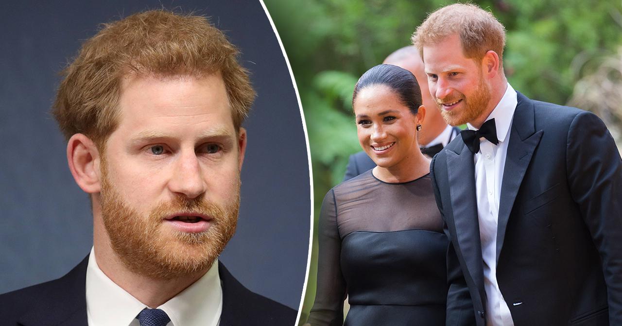 Prins Harrys nya barnbesked med Meghan Markle