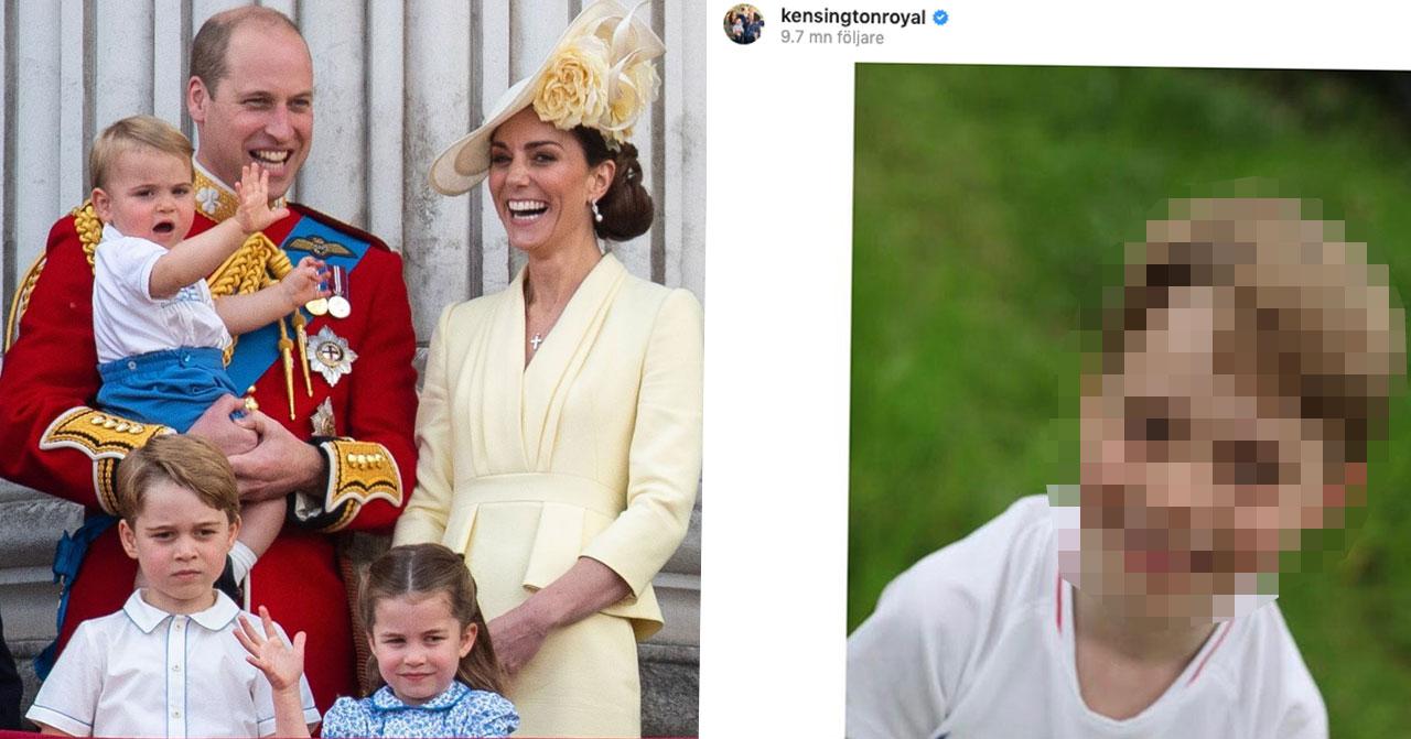 Nya bilderna avslöjar sexåriga prins Georges förvandling