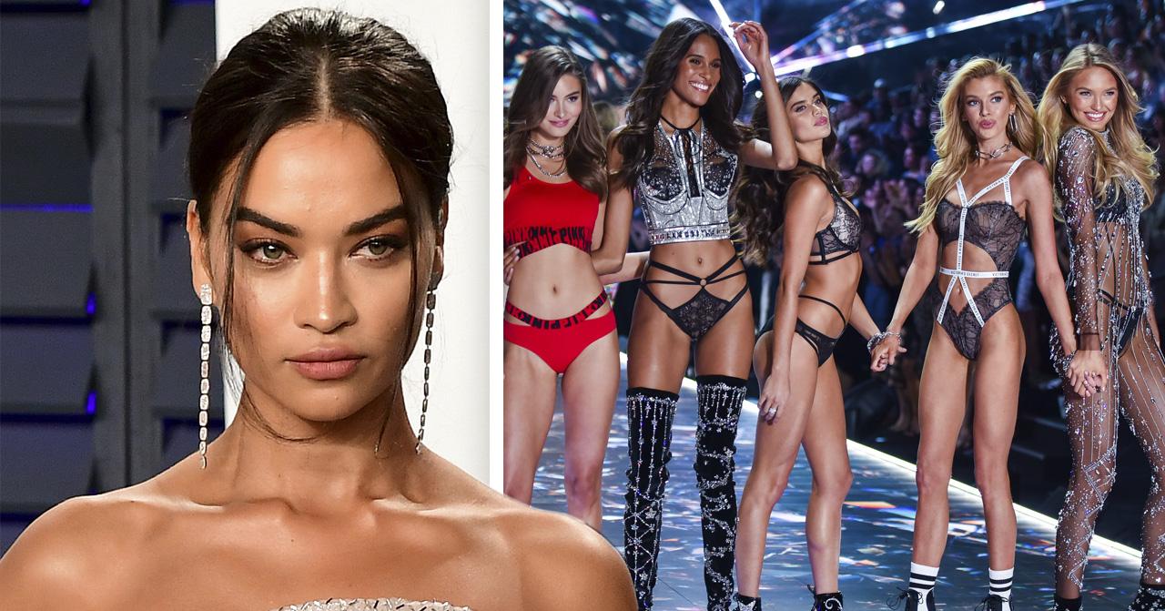 Modellen Shanina Shaik avslöjar att Victoria's secret fashion show ställs in 2019.