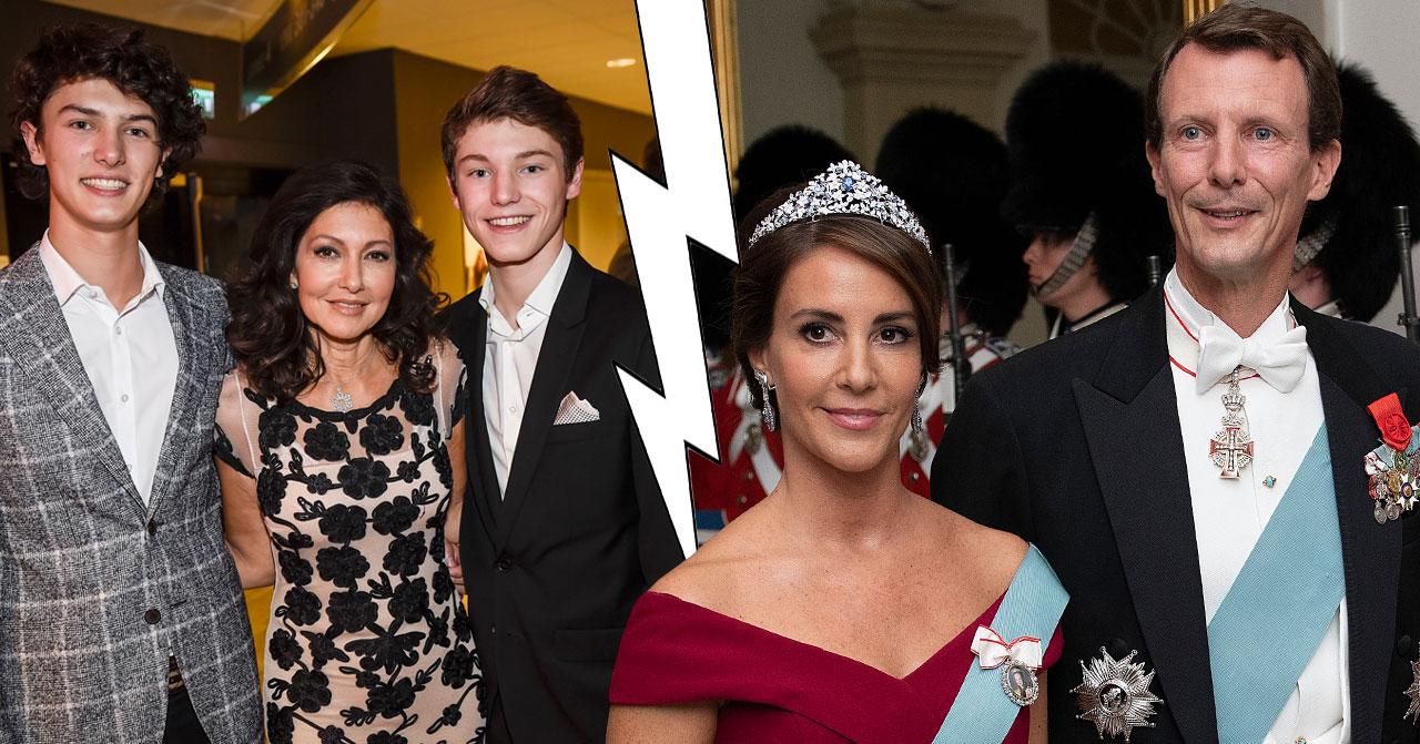 Alexandra och prins Joachim bråk om sönerna