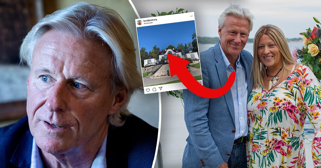 Björn Borg och hustrun Patricia