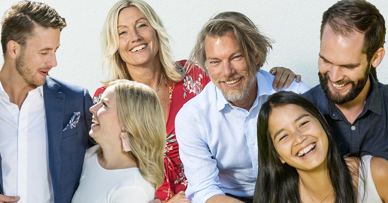 Magnus Nilsson, Jannica Levin, Malin Alpsjö, Daniel Elander, Mina Alvesson Due Billing och Niclas Gråberg var med i Gift vid första ögonkastet 2019.