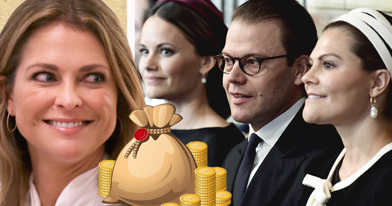 Prinsessan Madeleine, Sofia Hellqvist, prins Daniel och kronprinsessan Victoria.