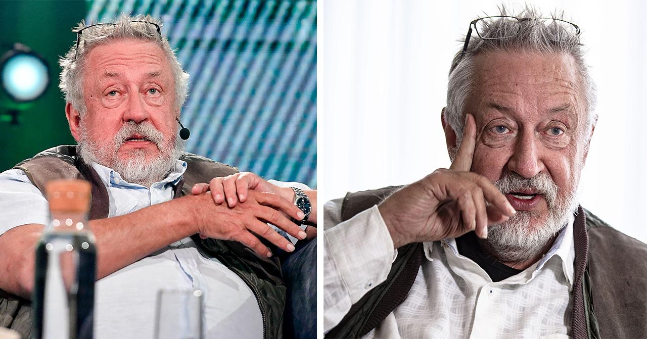 Därför vägrar Leif GW Persson gå i pension