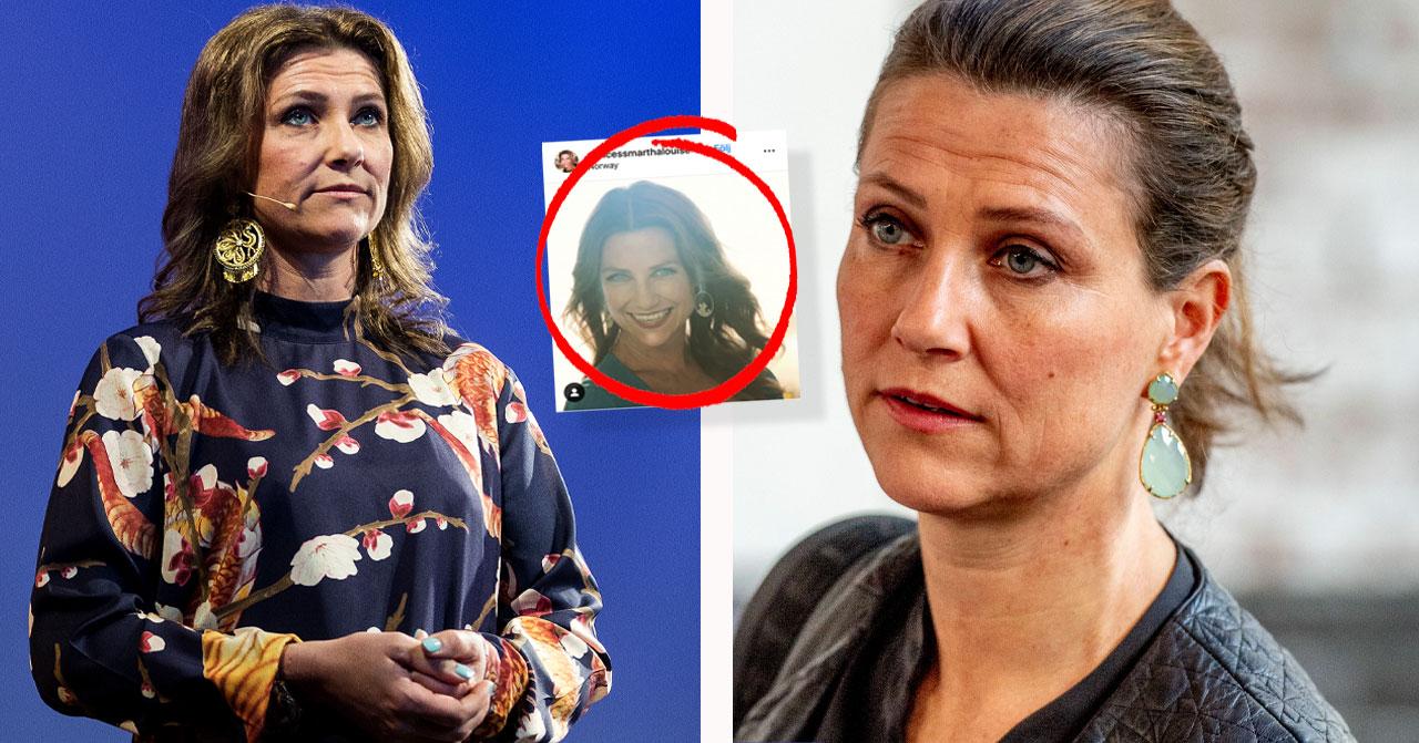 Prinsessan Märtha Louise stoppad Instagram