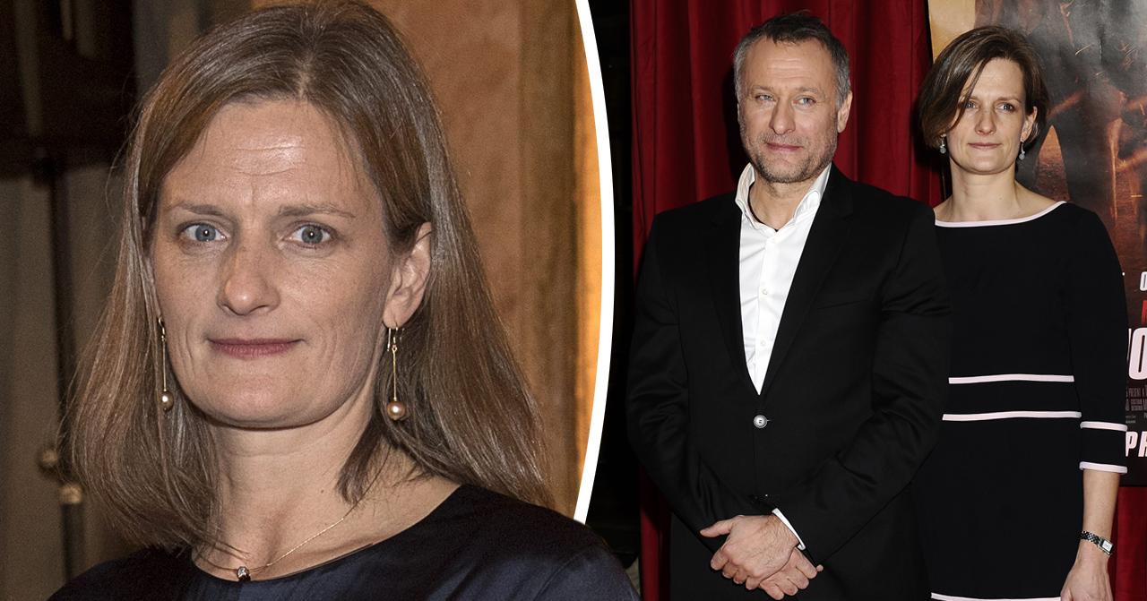 Michael Nyqvist änka Catharina Nyqvist Ehrnrooth om sista tuffa sjukdomstiden.