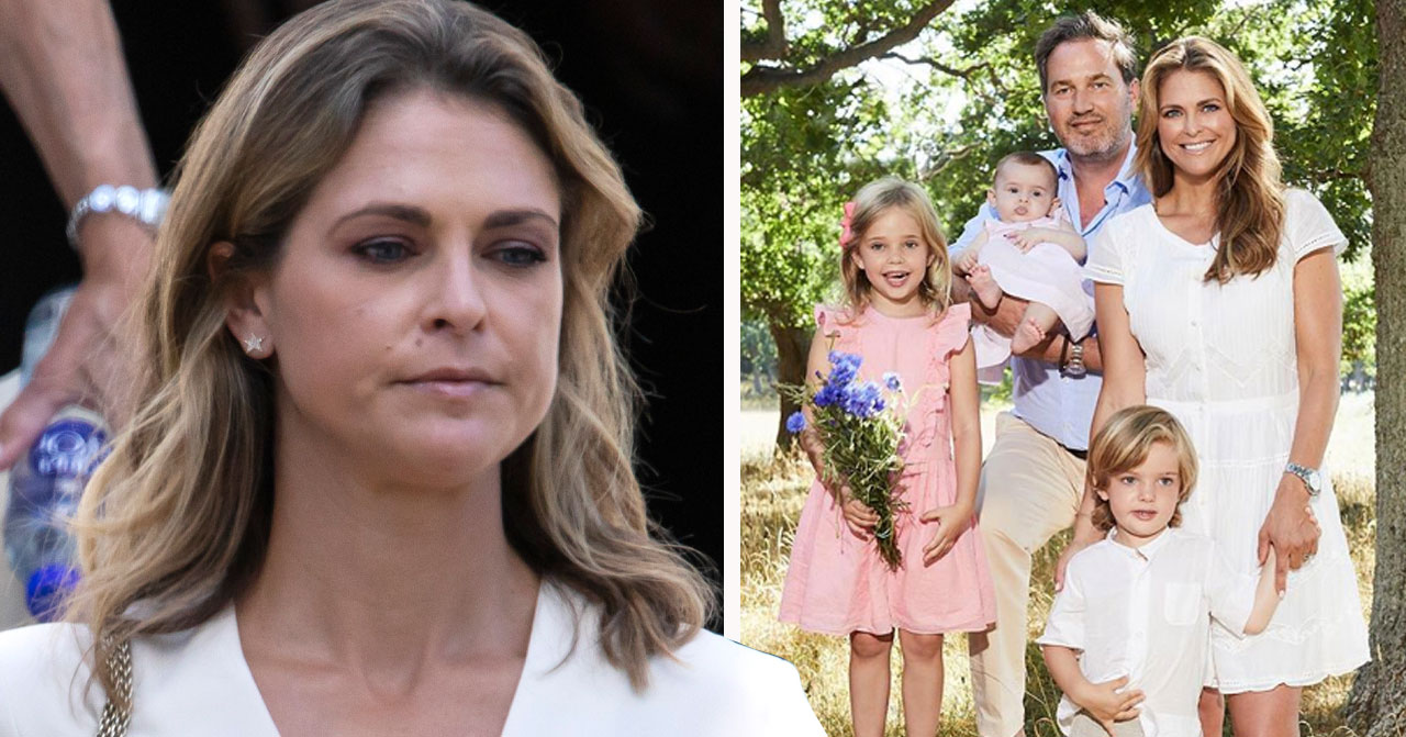 Därför vet inte prinsessan Madeleines barn att de är kungligheter