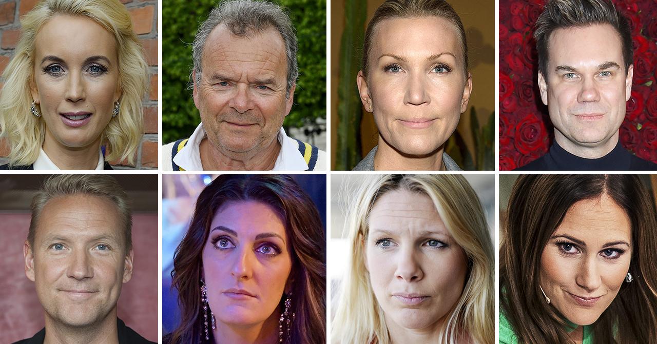 Jenny Strömstedt, Steffo Törnquist, Jenny Alversjö, Anders Pihlblad, Jesper Börjesson, Soraya Lavasani, Anna Brolin och Maria Forsblom är alla programledare på TV4 Nyhetsmorgon