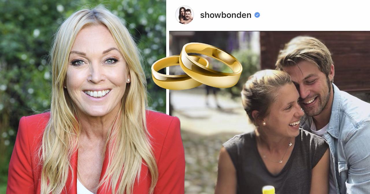 Susanna Karlsson och Hannes Haraldsson gifter sig