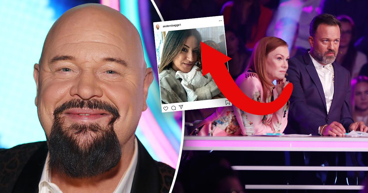 Anders Bagge i Idol på TV4