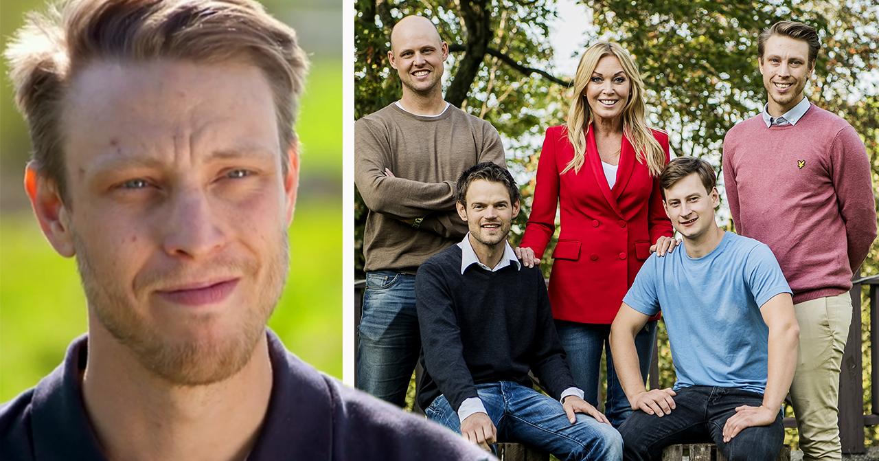 Pelle Hansson Edh och övriga bönder i Bonde söker fru 2019.