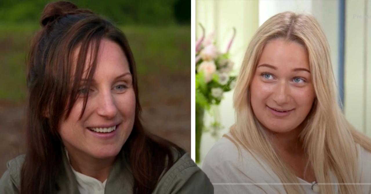 Systrarna Minna lindberg och Sara Håkansson i Bonde söker fru om hur de mörkade allt för TV4
