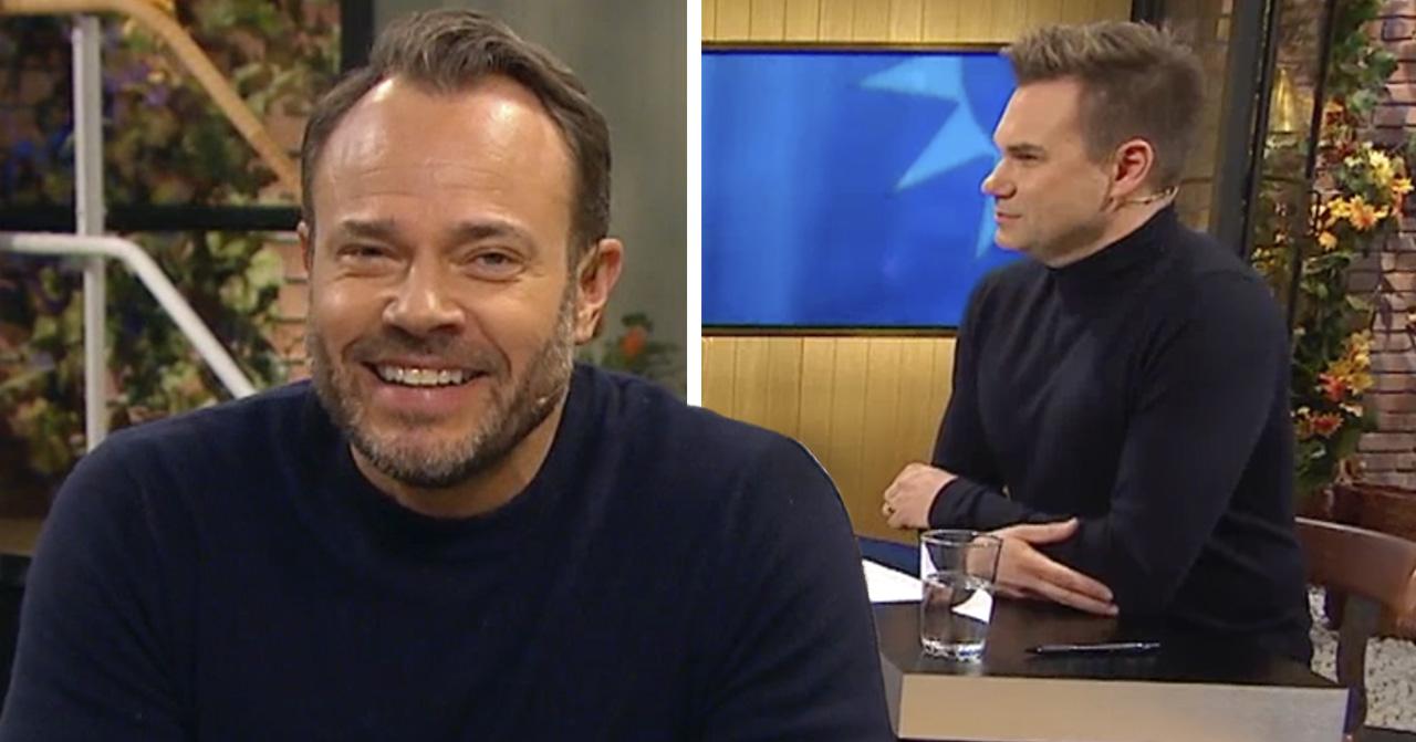 David Hellenius fräcka drag – tog över programledarrollen i Nyhetsmorgon.