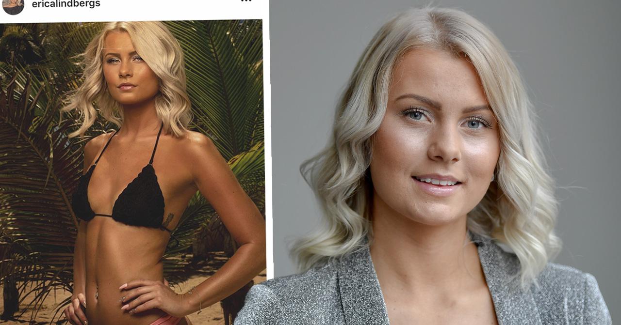 Erica Lindbergs oväntade ord om Marcelo Peña efter comebacken Paradise hotel.
