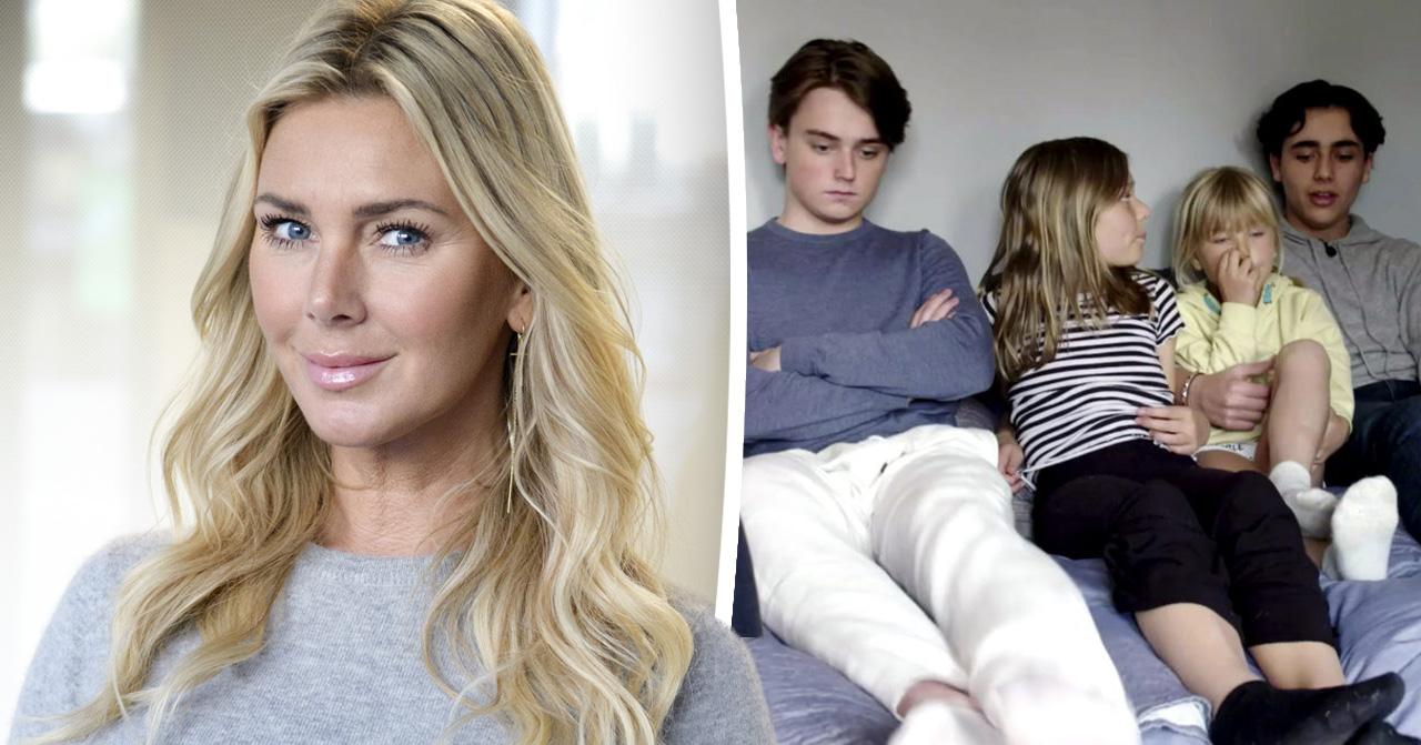 Hannah Graaf om att ha sina döttrar kvar i Spanien efter skilsmässan från Peter Karyd.