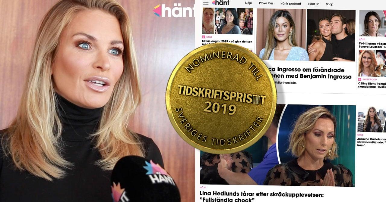 Hänt.se nominerade Tidskriftspriset 2019