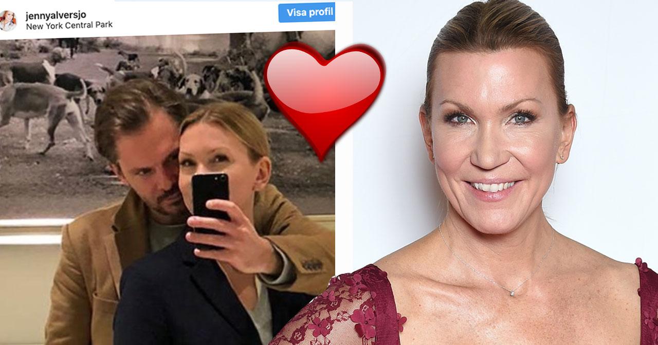Jenny Alversjö nya pojkvän Anders