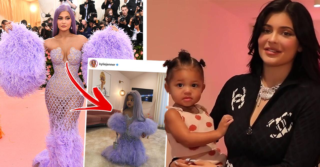 Stormi kopierar mamma Kylie Jenner på nya bilderna – fansen jublar