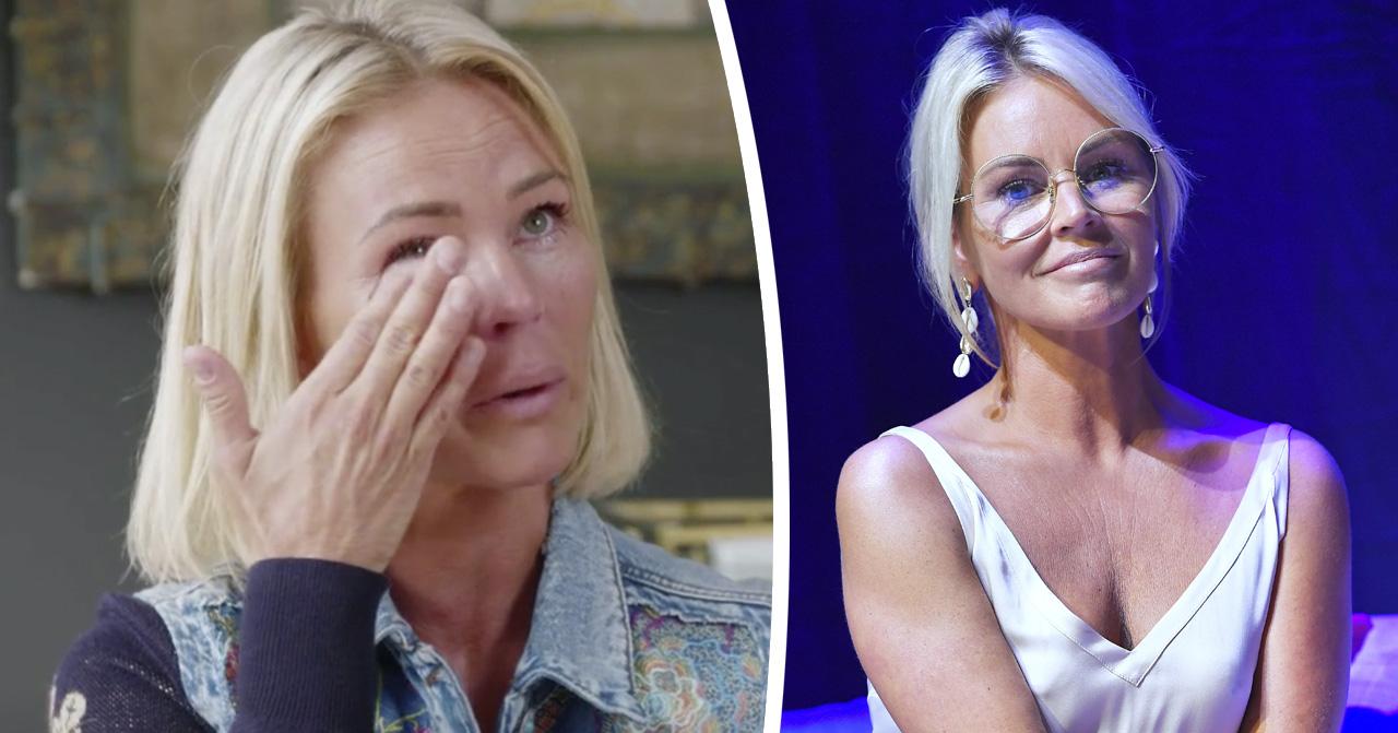 Magdalena Graaf talar i tårar ut om sin avlidne son Isak.