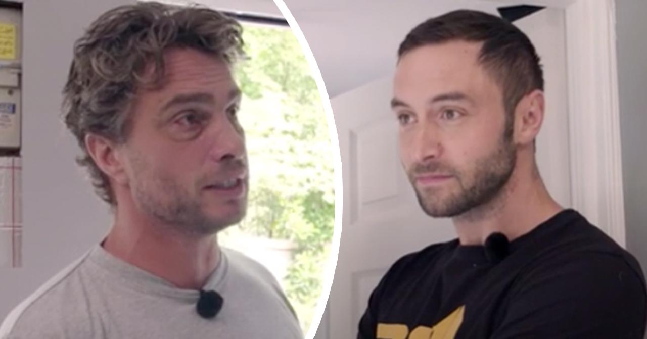 Anders Öfvergårds ilska mot Måns Zelmerlöw under TV4-inspelningen