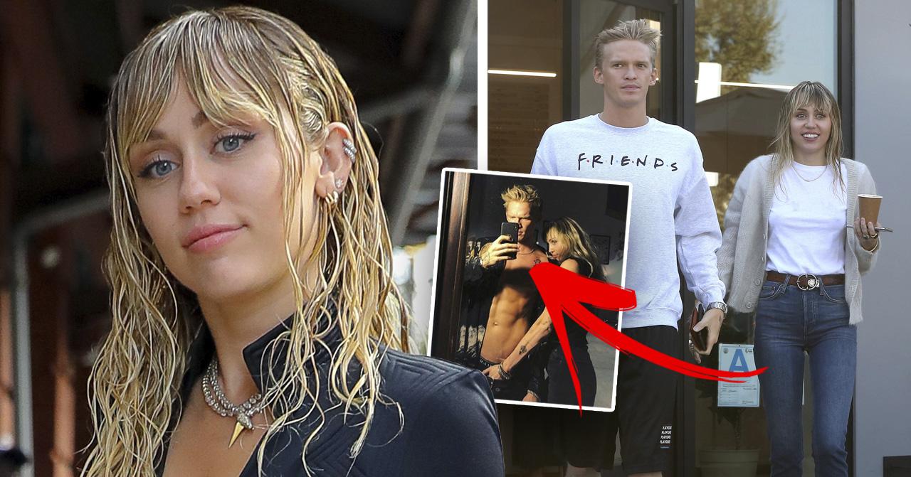 Miley Cyrus kärlekstatuering med nya pojkvännen Cody Simpson.