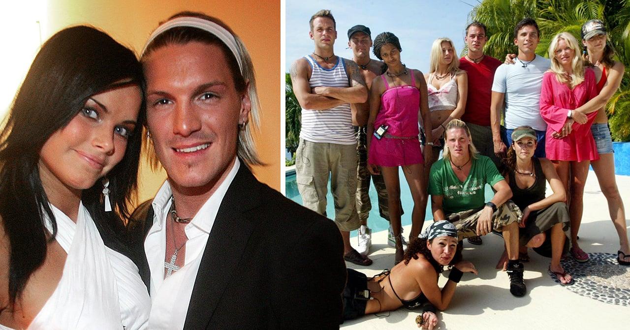 Sofia Hellqvist och Gregory Nanderöd var två av de som var med i Paradise hotel 2005.