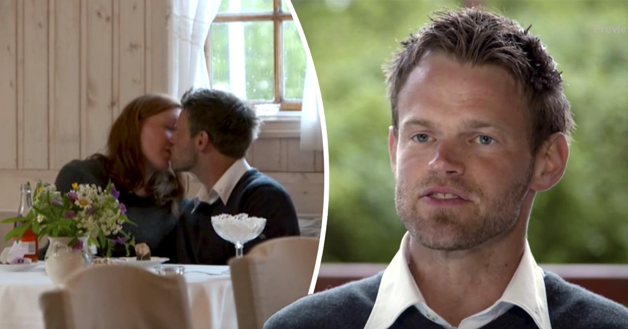 Alexander Andersson bonde söker fru kysser Isabell