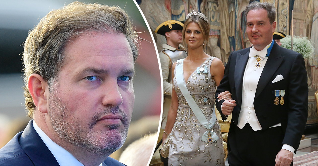 Christopher O'Neill och prinsessan Madeleine