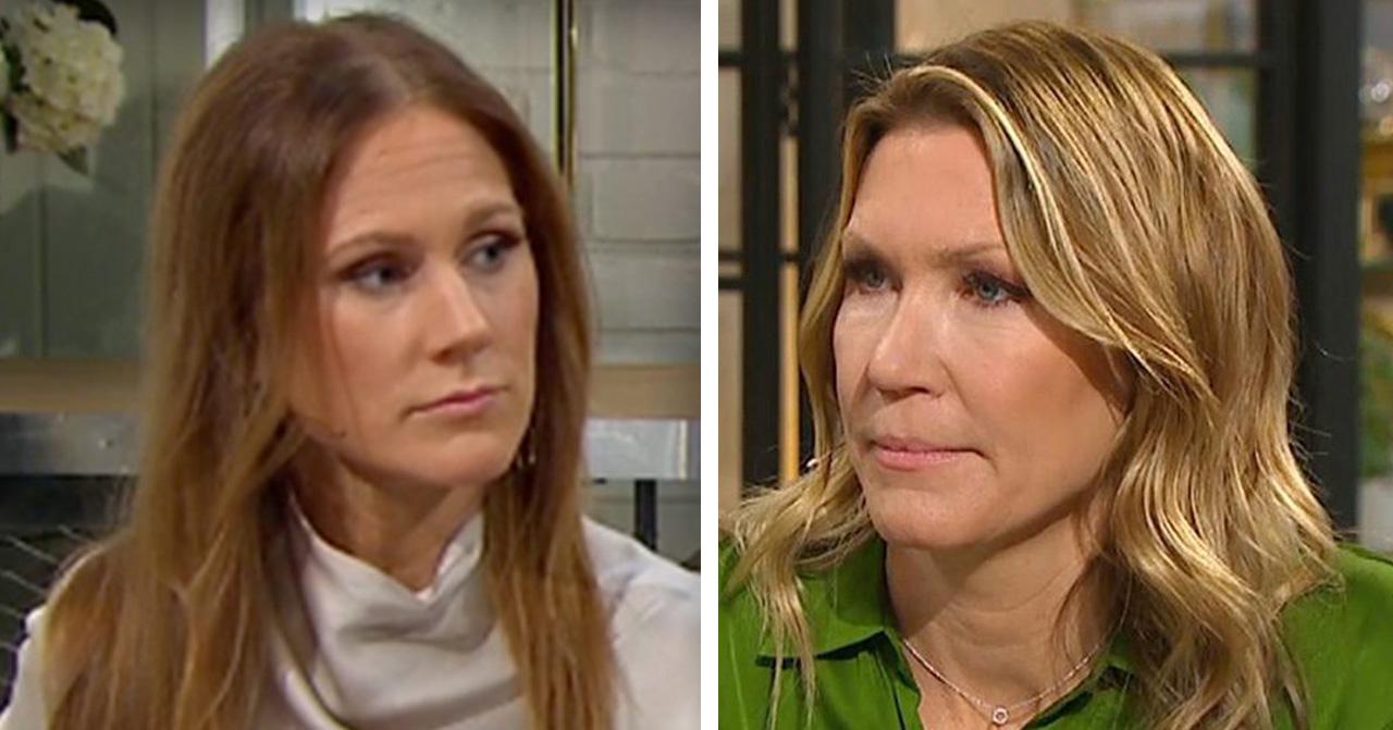 Maria Forsblom om Jenny Alversjös stroke