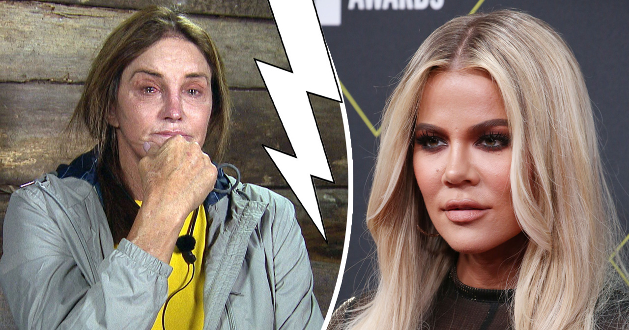 Khloe kardashian och caitlyn jenner