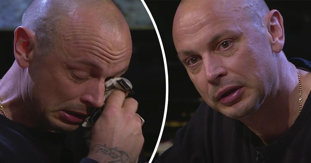 Petter Alexis Askergren gråter i Så mycket bättre