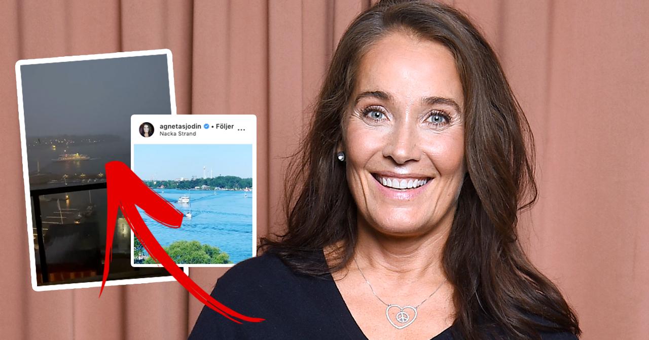Agneta Sjödin om sin nya lägenhet – visar upp lyxiga detaljen