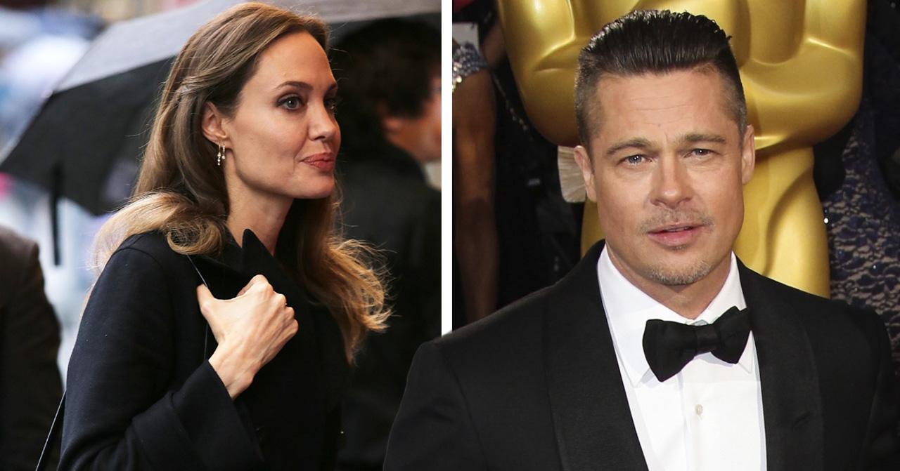 Angelina Jolie stoppas av Brad Pitt – stjärnans egna ord