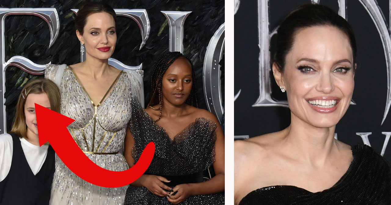 Angelina Jolies dotter Vivienne en kopia av sin mamma