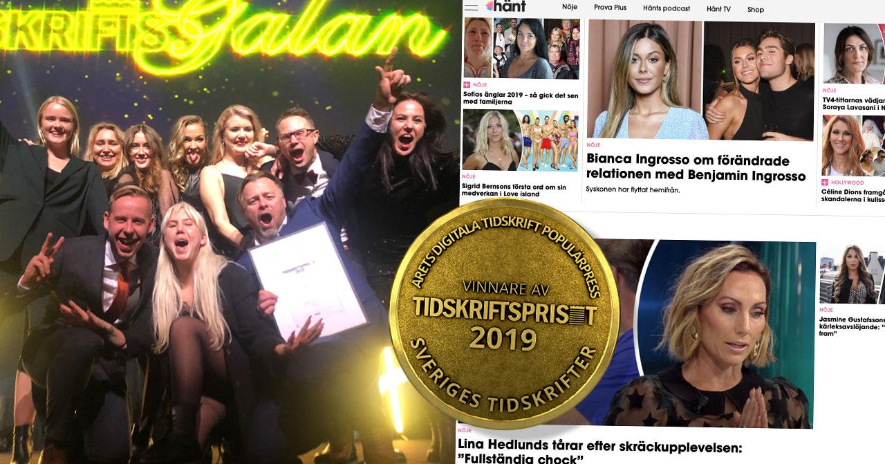 Hänt.se gör succé – vinnare av Tidskriftspriset 2019