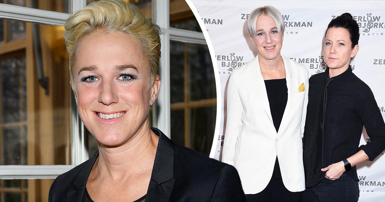 Kajsa Bergqvist bekräftar: Josefin Holmqvist är min nya kärlek