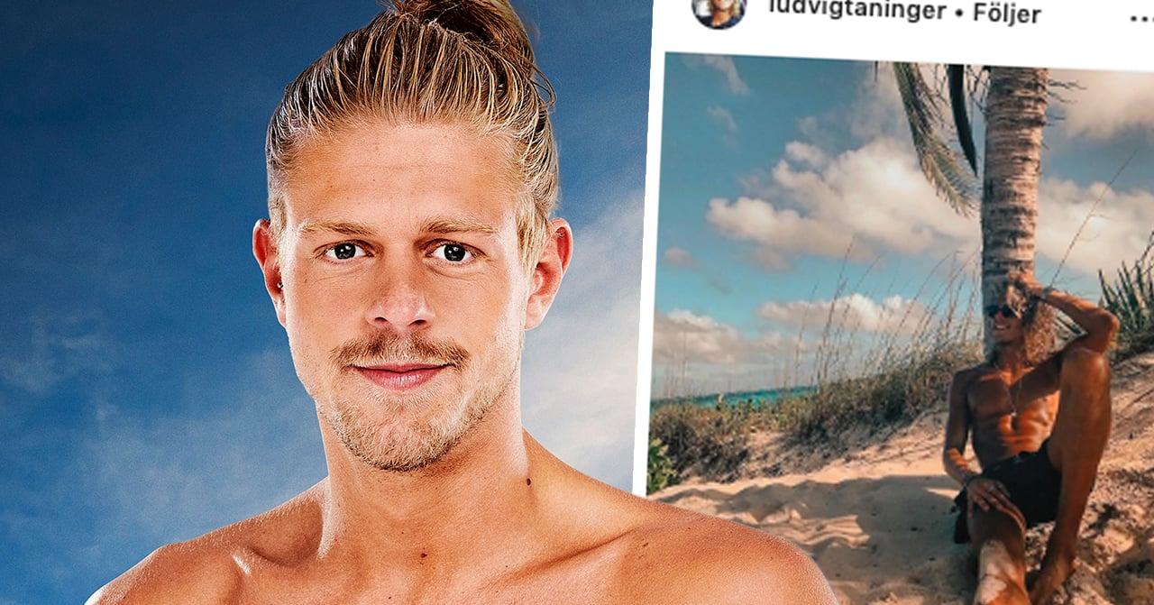 Ex on the beach-profilen Ludvig Taningers kärlekslycka – efter mötet i tv