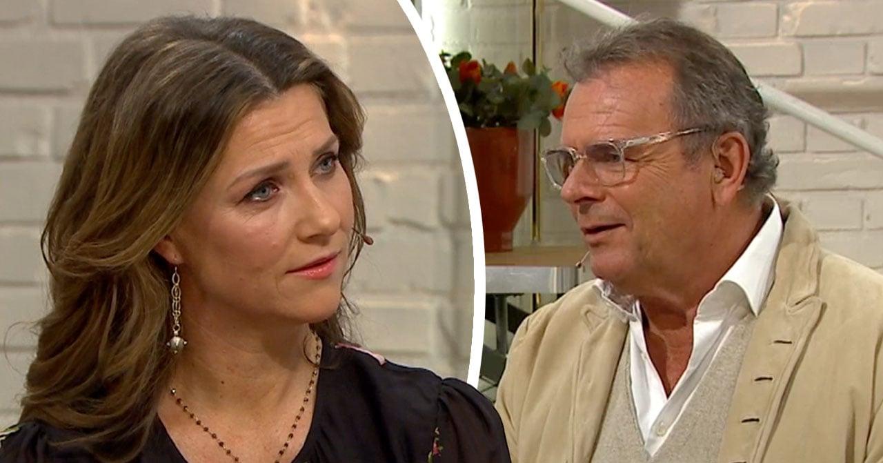 Märtha Louise svar efter Steffos fråga i Nyhetsmorgon