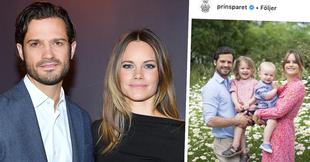 """Prins Carl Philip och prinsessan Sofias beslut om bilderna på barnen: """"Måste dra en gräns"""""""