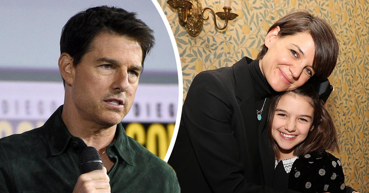 Katie Holmes om relationen dottern Suri efter Tom Cruise svek