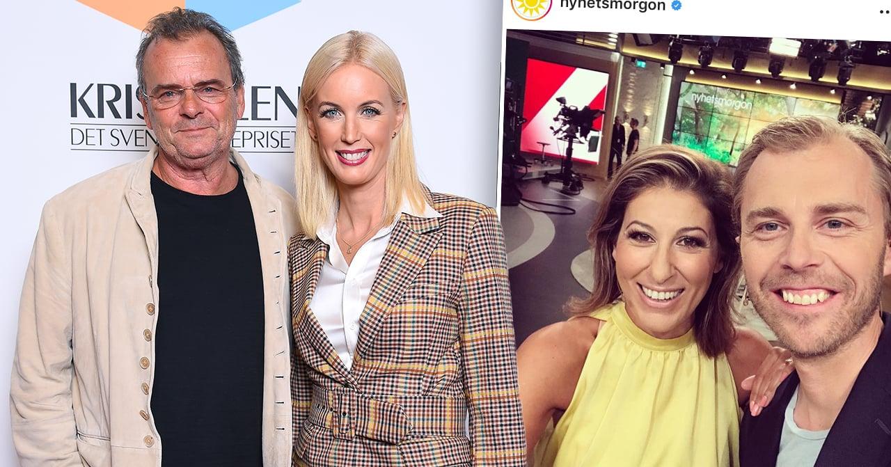Programledarna i Nyhetsmorgon på TV4