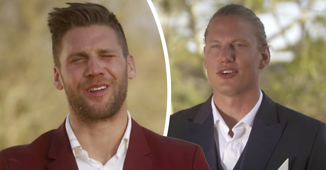 Bachelor 2019: Simon Hermansson och Felix Almsved.