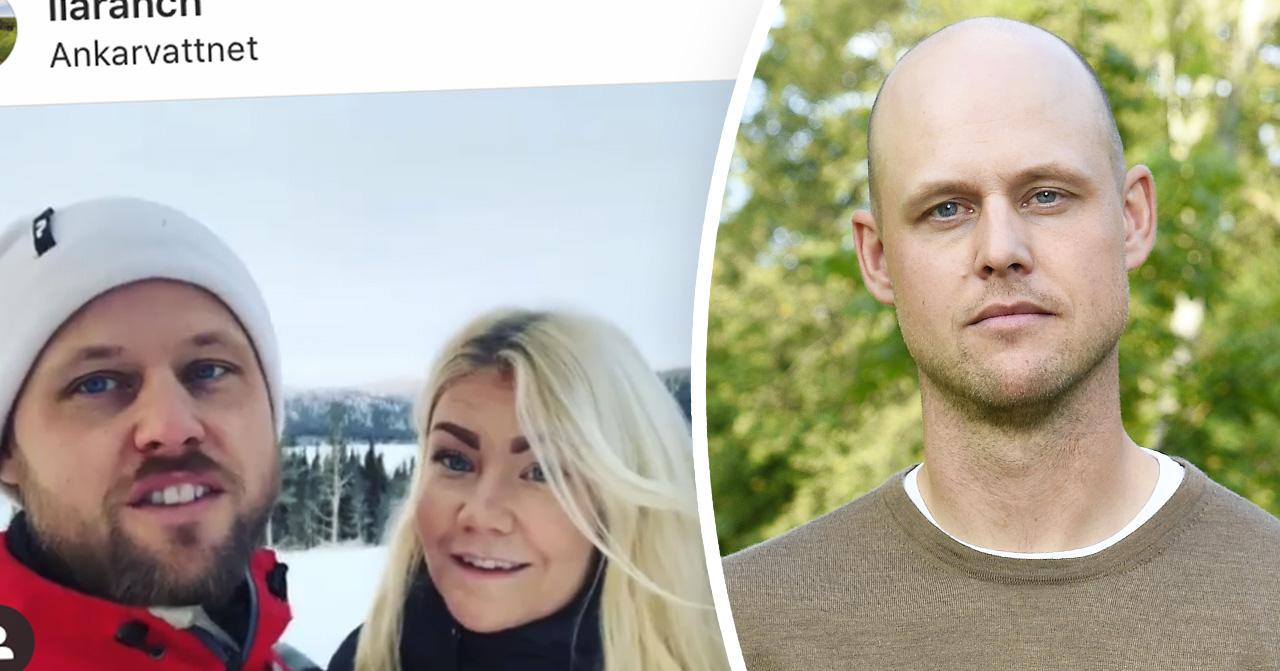 Jimmy Olofsson och Emilie Åström från Bonde söker fru 2019.
