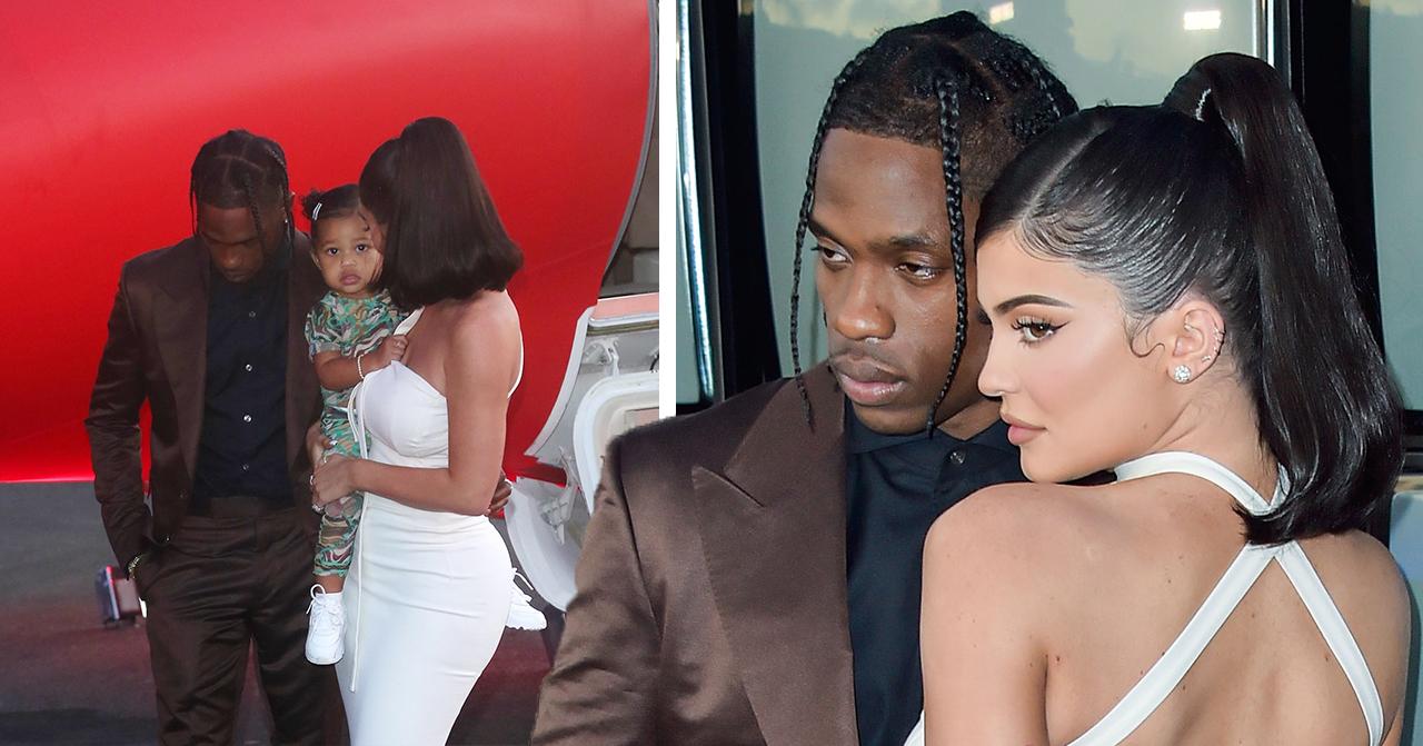 Kylie Jenner har ett av- och på-förhållande med Travis Scott.