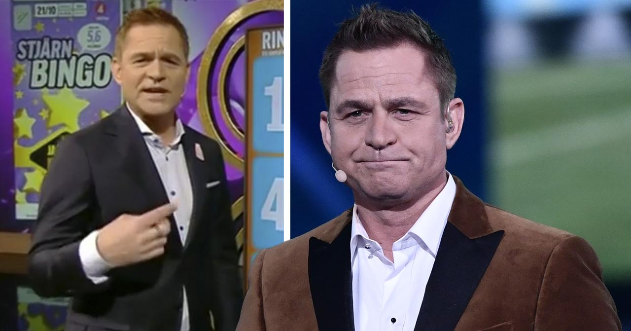 Rickard Olssons oro över Bingolotto på TV4.