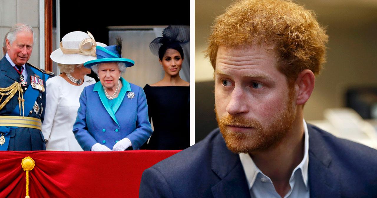 Prins Harry om kungafamiljen