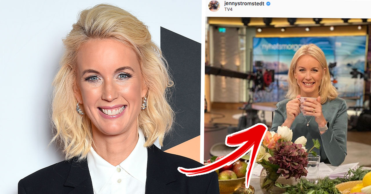 Jenny Strömstedt Nyhetsmorgon TV4